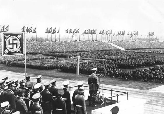 Hitler at Zeppelin Field